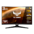 MODELIS: VG32VQ<br />Asus TUF VG32VQ lenktas 144Hz GAMING LED monitorius su garsiakalbiais ir VA technologija | 31.5 colių | 2560x1440 | Reakcijos laikas: 1ms | Peržiūros kampas: 178°/178° | Jungtys: HDMI, DisplayPort, 3.5mm Mini-Jack | Tilt, Height Adjustment, VESA, Flicker free, Kensington lock