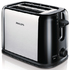 MODELIS: HD2586/20<br />Philips Daily Collection Toaster HD2586/20 2 slot Compact Black silver