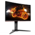 AOC C24G1 144Hz lenktas GAMING LED monitorius su VA technologija | 24 colių | FULL HD (1920x1080) | Kontrastas: 80 000 000:1 | Reakcijos laikas: 1ms | Peržiūros kampas: 178°/178° | Jungtys: D-Sub, DisplayPort, HDMI, Headphone out | Tilt, Swivel, Height adjustment