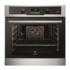 MODELIS: EOB5434AOX<br />Electrolux Oven EOB5434AOX Multifunction with convection, 72 L, Black, Stainless steel, Enamel self-cleaning / water cleaning, A, Mecahnical, Height 60 cm, Width 60 cm, Electric