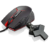 Lenovo Y Gaming Precision Black/Red Right-Handed 8200DPI Gaming USB Mouse with 9 programmable buttons and Omron switches