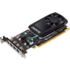 MODELIS: 1ME42AT<br />NVIDIA Quadro P600 2GB 4x mDP Kit w/2 Adapters mDP to DP