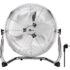 MODELIS: 39510<br />Goobay 39510 16-inch retro floor fan Floor fan, Number of speeds 4, Diameter 45 cm, Chrome