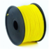 MODELIS: 3DP-ABS1.75-01-Y<br />Flashforge ABS plastic filament  1.75 mm diameter, 1kg/spool, Yellow