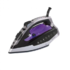 MODELIS: DOM345<br />Iron DomoClip DOM345   Black/Violet, 2400 W, With cord, Continuous steam 25 g/min, Steam boost performance 120 g/min, Auto power off, Anti-drip function, Anti-scale system, Vertical steam function, Water tank capacity 350 ml