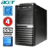 MODELIS: RD5623WH<br />Acer Veriton M4610G MT G630 4GB 240SSD DVD WIN10 RENEW