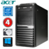 MODELIS: RD5047WH<br />Acer Veriton M4610G MT G630 4GB 250GB DVD WIN10 RENEW