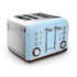 MODELIS: 242100<br />Toaster Morphy richards 242100 Azure, Stainless steel, 1880 W, Number of slots 4, Number of power levels 7,