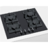 MODELIS: PPP6A6B20<br />Bosch Hob PPP6A6B20 Gas on glass, Number of burners/cooking zones 4, Black,