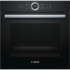 MODELIS: HBG633CB1S<br />Bosch HBG633CB1S Multifunction Oven, 71L, 10 functions, TFT display control, EC A+, EcoClean, 4D Hot Air, Black