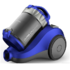 MODELIS: RCH-120S<br />DAEWOO Vacuum Cleaner RCH-120S Bagless, Blue, 800 W, 2 L, A, A, E, F, 84 dB, HEPA filtration system,