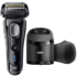 MODELIS: 9-9250CC<br />Braun 9-9250cc Series 9 Electric Shaver, Wet/Dry, Cordless, Operating time 50 min, Black