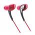 MODELIS: ATH-SPORT2RD<br />Audio Technica Earphones In-ear, Red
