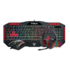 MODELIS: 16774-23000-05000-G<br />Gamdias Poseidon M1 Combo ARES M1 Gaming keyboard 7 colors+ZEUS E2 Optical gaming mouse+EROS E1 Stereo gaming headset, Gaming, US, Membrane, RGB LED light Yes (7 colors), Wired, Black