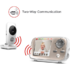 MODELIS: MBP667CONNECT<br />Motorola MBP667connect White,  Wi-Fi Video Baby Monitor, Wireless