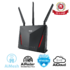 MODELIS: RT-AC86U<br />ASUS RT-AC86U Wi-Fi AC2900 Gaming Router with AiProtection Powered by Trend Micro, ASUS AiMesh Wi-Fi System (Mesh), WTFast game accelerator inside for free, Link aggregation, adaptive QoS, ASUS router app support, USB 3.0, Dual-WAN 3G/4G support, AiCloud 2.0, AiDisk, AiRadar