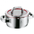 MODELIS: 760166380<br />WMF FUNCTION 4 Low Casserole with lid, Ø 16 cm  WMF