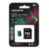 MODELIS: AUSDX128GUI3V30SA2-RA1<br />ADATA 128GB Premier Pro MICROSDXC, R/W up to 100/80 MB/s, with Adapter