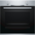 MODELIS: HBA530BS0S<br />Bosch Oven HBA530BS0S Built-in, 71 L, Stainless steel, Eco Clean, A, Push pull buttons, Height 60 cm, Width 60 cm, Integrated timer, Electric