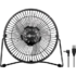 MODELIS: 62061<br />Goobay 62061 8 Inch Desktop USB fan Desk Fan, Number of speeds 1, Diameter 22 cm, Black