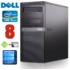 MODELIS: RD5940WH<br />DELL 980 MT i5-650 8GB 120SSD+1TB DVD WIN10 RENEW