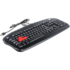 MODELIS: KB-28G-1-U<br />A4Tech KB-28G  Gaming keyboard Wired, USB, Keyboard layout EN/RU, USB, Black, No, Numeric keypad, 780 g