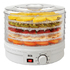 MODELIS: ECGSO375<br />ECG SO 375 Dehydrator 5 transparent trays 32 cm, thermostat (35-70 °C) , overheat protection