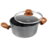 MODELIS: 17781<br />Stoneline Cooking pot  17781 2.5 L, 20 cm, Die-cast aluminium, Grey, Lid included