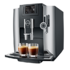 MODELIS: E8<br />Jura E8 Automatic coffee machine, Capacity 1,9L, 15 bar pump pressure, TFT display, Power 1450 W, Platin JURA E8 Pump pressure 15 bar, Built-in milk frother, Fully automatic, 1450 W, Black/Inox