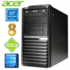MODELIS: RD5633WH<br />Acer Veriton M4610G MT G630 8GB 120SSD DVD WIN10 RENEW