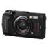 "MODELIS: V104190BE000<br />Olympus TG-5 Compact camera, 12 MP, Optical zoom 4 x, Image stabilizer, ISO 12800, Display diagonal 3.0 "", Wi-Fi, Focus TTL, Video recording, Lithium‑Ion, Black"