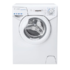 MODELIS: AQUA 104LE/2-S<br />Candy Washing Machine AQUA 104LE/2-S A+, Front loading, Washing capacity 4 kg, 1000 RPM, Depth 43.5 cm, Width 51 cm, Display, LED, White