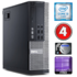 MODELIS: SKY260<br />DELL 9020 SFF Intel Core i3-4160 3.6GHz | DDR3 4GB | HDD 500GB | DVD |  Intel® HD Graphics 4400 | Windows 10 Pro | RENEW