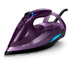 MODELIS: GC4934/30<br />Philips Iron GC4934/30 Steam Iron, 3000 W, Water tank capacity 330 ml, Continuous steam 55 g/min, Purple