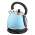 MODELIS: CR 1240 BLUE<br />Camry Electric Water Kettle CR 1240  Standard kettle, Stainless steel, Blue, 1800 W, 360° rotational base, 1.8 L
