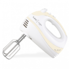 MODELIS: SL-109<br />ORAVA SL-109 White, Hand mixer, 300 W, Number of speeds 5 speeds and TURBO function, Shaft material Chrome-coated generous steel,