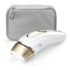 MODELIS: PL5014<br />Braun Epilator PL5014 IPL Number of speeds 3 comfort modes  Normal, gentle or extra gentle setting. Gentle and extra gentle setting reduce the energy level for beginners or treating sensitive areas., Number of intensity levels 10, Bulb lifetime (flashes) 400000, White/Gold