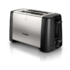 MODELIS: HD4825/90<br />Toaster Philips HD4825 Black, Stainless steel, Stainless steel, 800 W, Number of slots 2, Number of power levels 7,