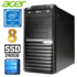 MODELIS: RD5634WH<br />Acer Veriton M4610G MT G630 8GB 240SSD DVD WIN10 RENEW