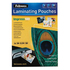 MODELIS: 5351111<br />FELLOWES LAMINATING POUCH 100MIC A4 100PK