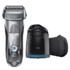 MODELIS: 7790CC<br />Braun Electric Shaver  7790cc Wet use, Rechargeable, Charging time 1  h, Li-Ion, Battery, Number of shaver heads/blades 4, Silver/ black