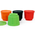 MODELIS: 1139-6701S<br />Yoko Design 1139-6701S  Jelly forms, Black/Orange/Red/Green, Capacity 0.11 L, Diameter 6,5 cm