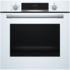 MODELIS: HBA533BW0S<br />Bosch Oven HBA533BW0S Built-in, 71 L, White, Eco Clean, A, Push pull buttons, Height 60 cm, Width 60 cm, Integrated timer, Electric