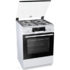 MODELIS: K634WH<br />Gorenje Cooker K634WH Hob type  Gas, Oven type Electric, White, Width 60 cm, Electronic ignition, Grilling, LED, 65 L, Depth 60 cm