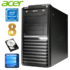 MODELIS: RD4500WH<br />Acer Veriton M4610G MT G630 8GB 250GB DVD WIN10 RENEW