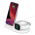 MODELIS: WIZ001VFWH<br />Belkin 3-in-1 Wireless Charger for Apple Devices BOOST CHARGE White