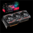MODELIS: 90YV0DD0-M0NA00<br />Asus ROG-STRIX-RX5700-O8G-GAMING AMD, 8 GB, Radeon RX 5700, GDDR6, PCI Express 4.0, Processor frequency 1725  MHz, Memory clock speed 1725  MHz, HDMI ports quantity 1