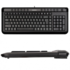MODELIS: KL-40/US+RU<br />A4Tech Keyboard KL40, slim,  multimedia, wired, Keyboard layout EN/RU, black, USB