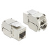 MODELIS: 86205<br />Delock Keystone Module RJ45 female > LSA Cat.6A