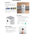 MODELIS: FJY4031GL<br />Xiaomi Mi Air Purifier 3H White, 38 W, Suitable for rooms up to 26-45 m²